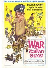 意大利式战争海报