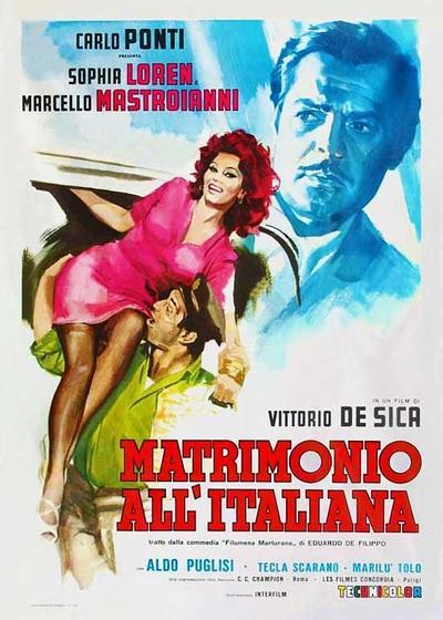 意大利式结婚海报
