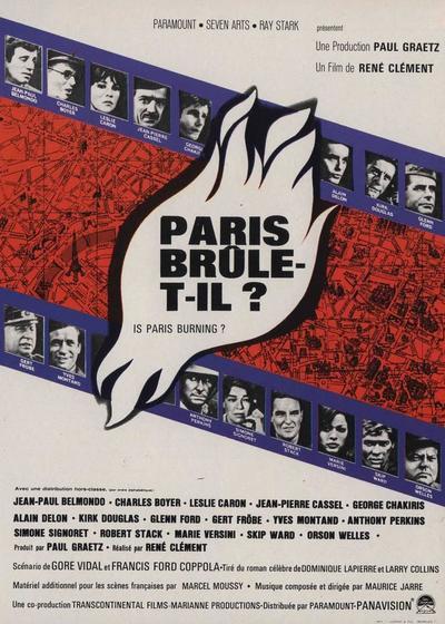 巴黎战火海报