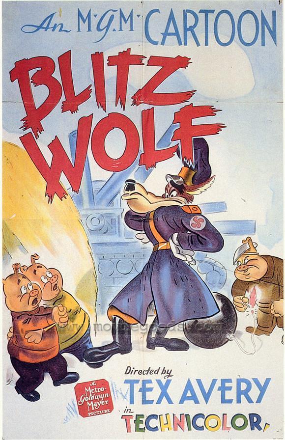 纳粹狼的闪电战