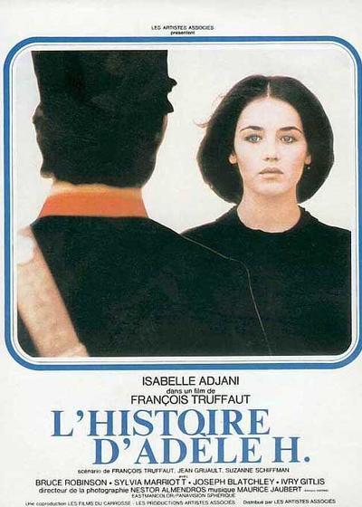 阿黛尔·雨果的故事海报