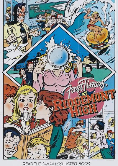 开放的美国学府海报