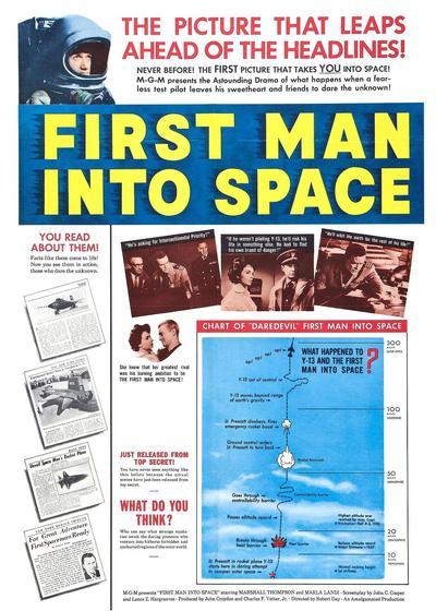 太空第一人海报