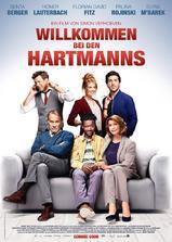 欢迎光临哈特曼一家海报