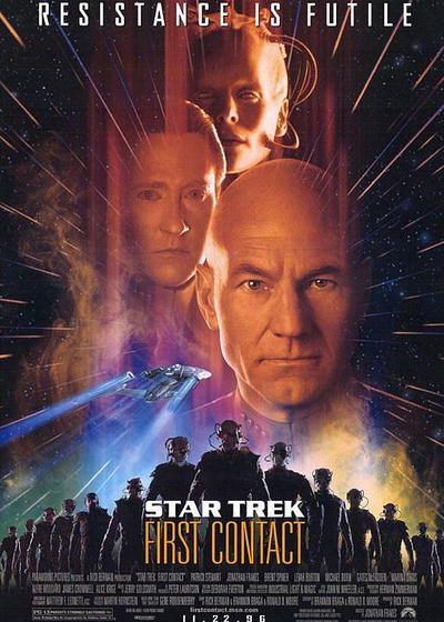 星际旅行8:第一类接触海报