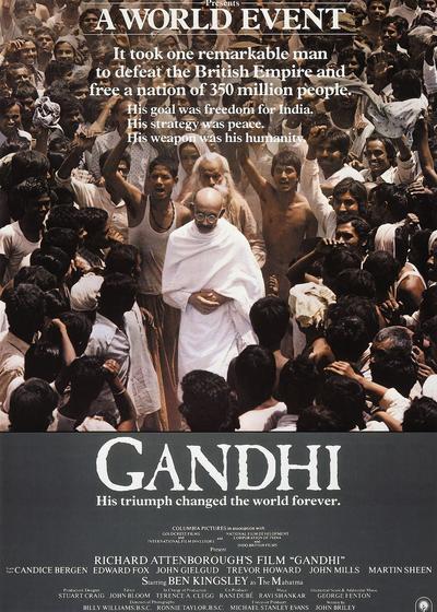 甘地传海报