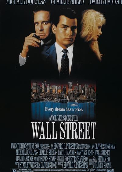 华尔街海报