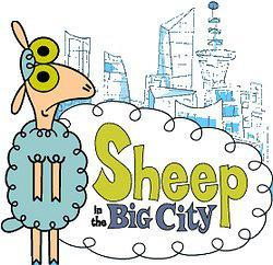 城市小绵羊海报