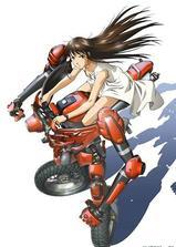 背骑少女海报
