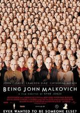 成为约翰·马尔科维奇海报