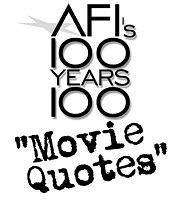 好莱坞百年百句经典电影台词海报