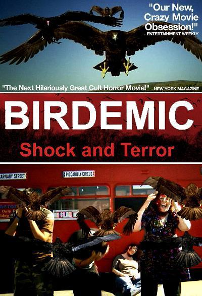 群鸟:震惊和恐怖