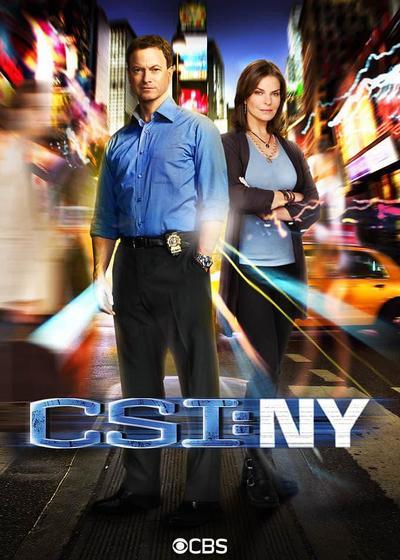 犯罪现场调查:纽约 第八季海报
