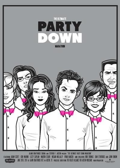 派对之后 第一季海报