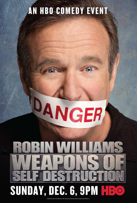 罗宾·威廉姆斯:自毁武器