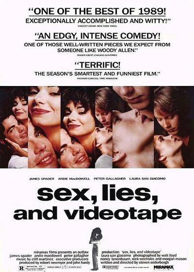 性、谎言和录像带海报
