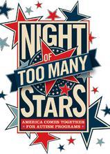 星光太亮之夜:全美联合助阵自闭症教育计划海报