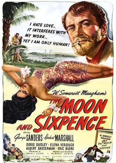 月亮和六便士海报