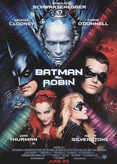 蝙蝠侠与罗宾海报