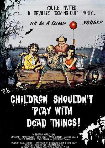 孩子不能同鬼玩海报