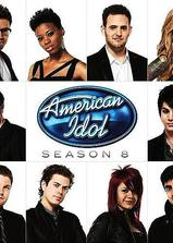 美国偶像 第八季海报