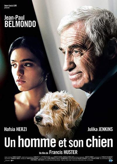 男人与狗海报