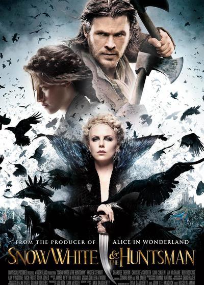 白雪公主与猎人海报