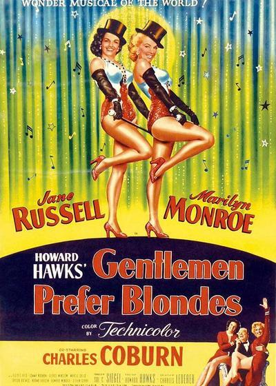 绅士爱美人海报