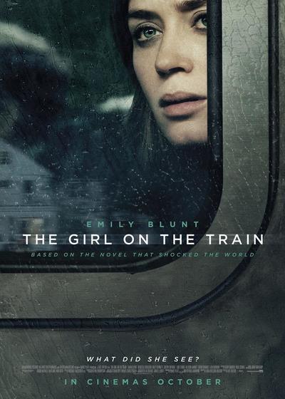 火车上的女孩海报