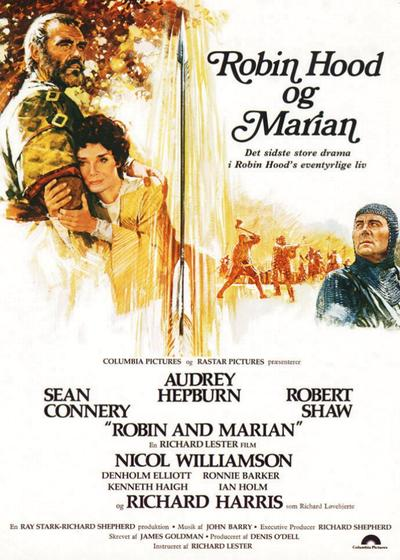 罗宾汉与玛莉安海报