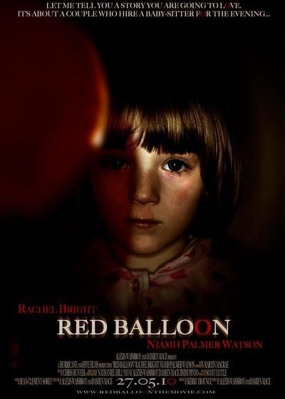 红气球海报