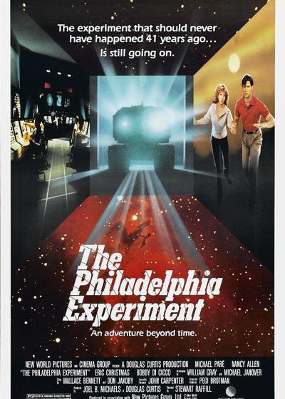 费城实验海报
