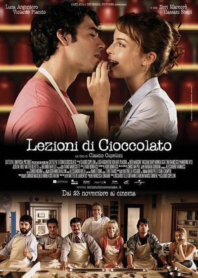 巧克力课程海报