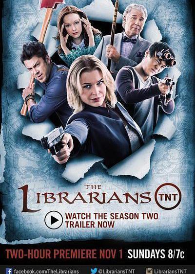 图书馆员 第二季海报