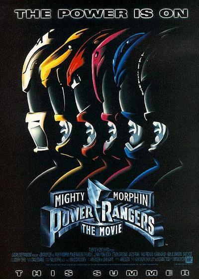 美版恐龙战队 电影版海报
