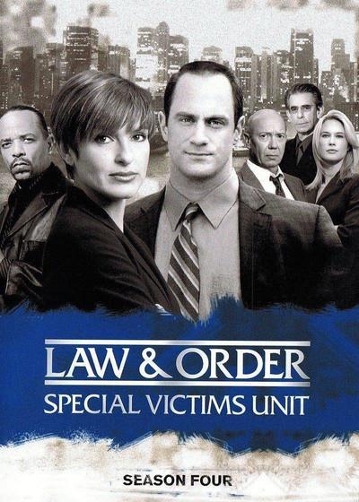 法律与秩序:特殊受害者 第四季海报
