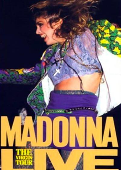 Madonna Live - The Virgin Tour海报