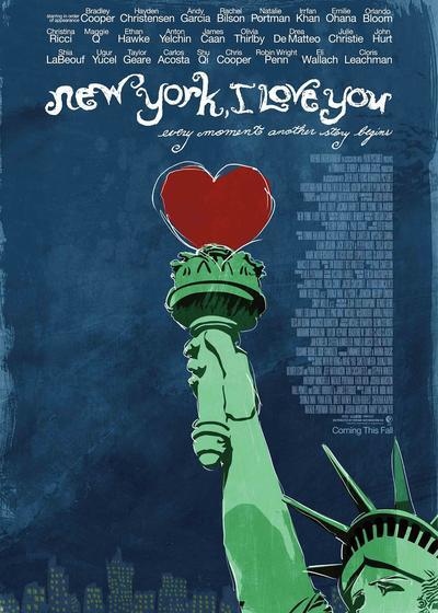 纽约,我爱你海报