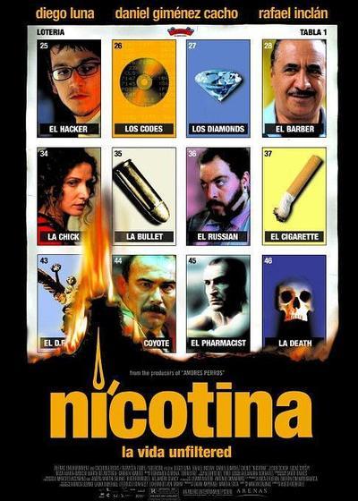 尼古丁海报