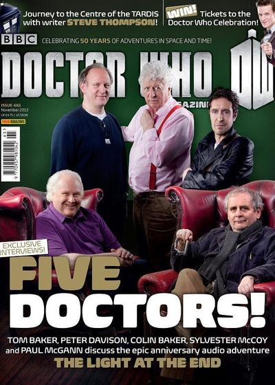 五位(还嫌少)博士重启海报
