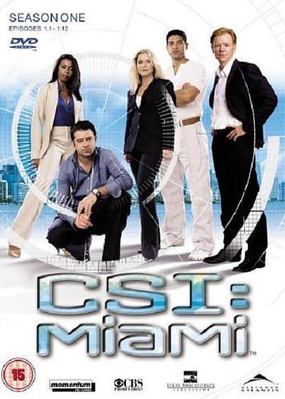 犯罪现场调查:迈阿密 第一季海报