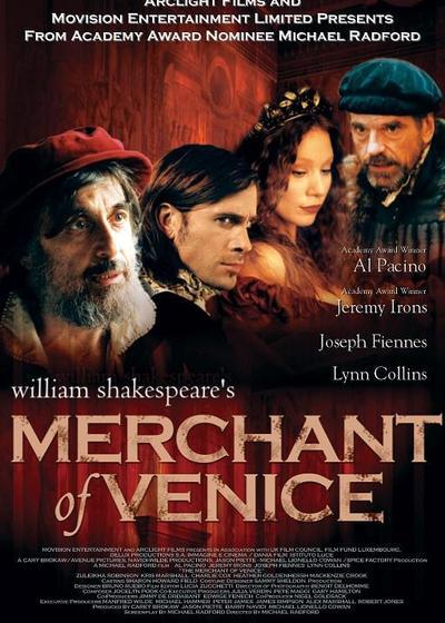 威尼斯商人海报
