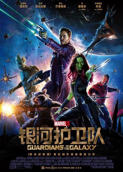 银河护卫队海报