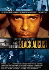 黑色八月海报