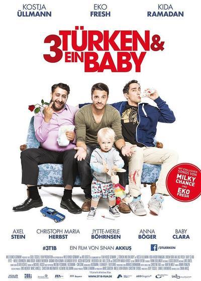 三个土耳其人和一个婴儿海报