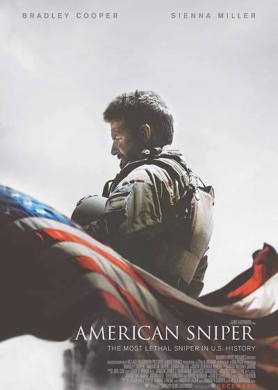 美国狙击手海报