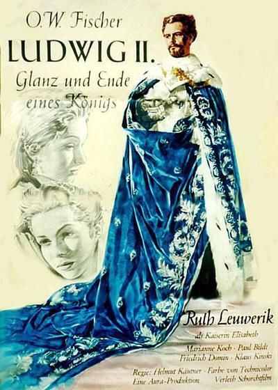 路德维希二世:一位君主的潮起潮落海报
