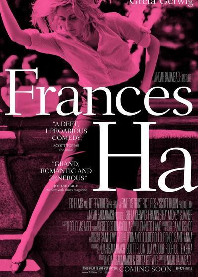 弗兰西丝·哈海报
