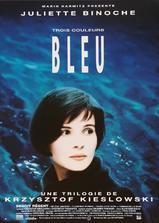 蓝白红三部曲之蓝海报