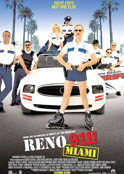 雷诺911海报